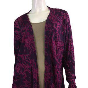 NWT Chalet Dark Purple Cardigan